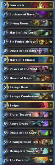 Thijs Token Beast Druid Deck Feb 17
