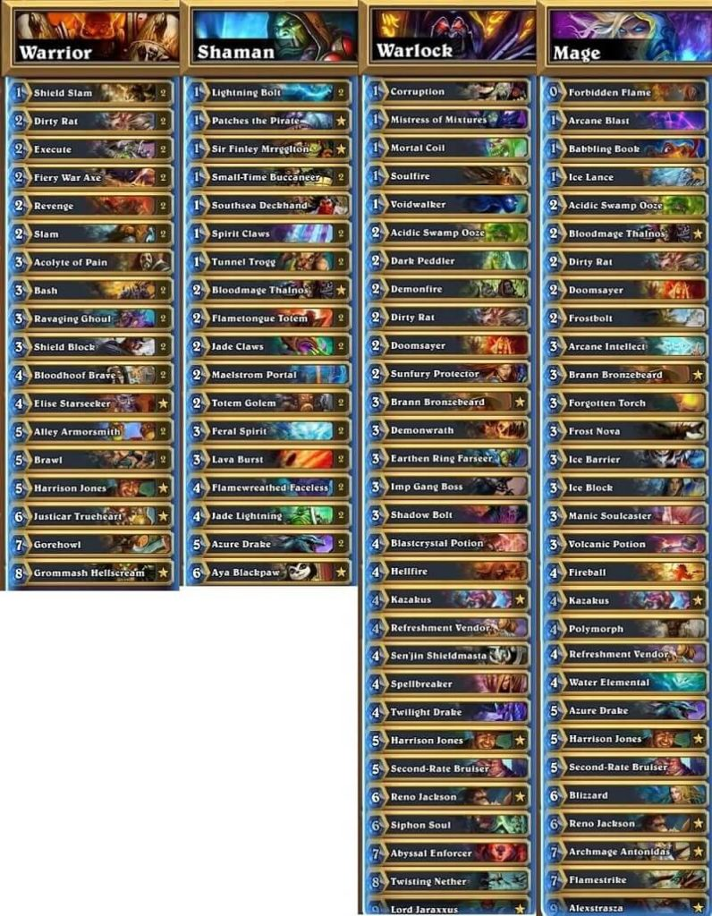 VLPS NA Winter Prelims 17 Decks