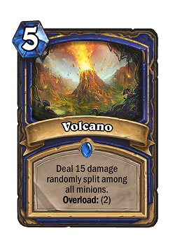 Volcano HS Shaman Card