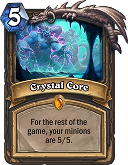 Crystal Core HS Rogue Card