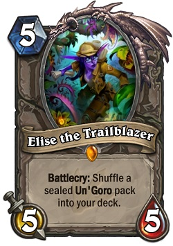 Elise the Trailblazer HS Card