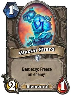 Glacial Shard HS Card