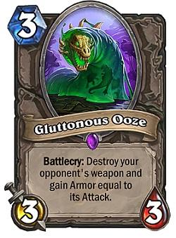 Gluttonous Ooze HS Card