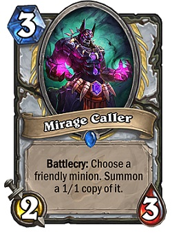 Mirage Caller HS Priest Card