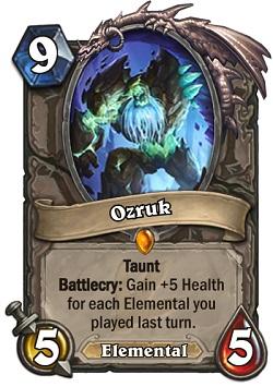 Ozruk HS Card