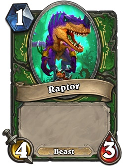 Raptor HS Hunter Card