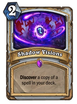 Shadow Visions HS Priest Card