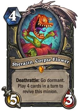 Sherazin, Corpse Flower HS Rogue Card