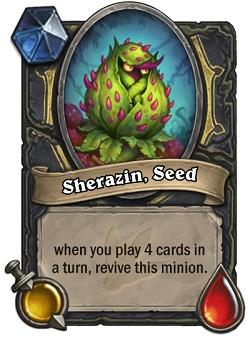 Sherazin, Seed HS Rogue Card