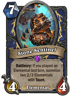 Stone Sentinel HS Card