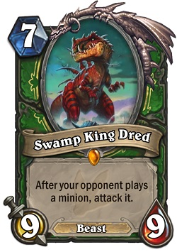 Swamp King Dred HS Hunter Card