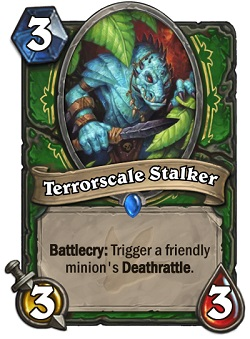 Terrorscale Stalker HS Hunter Card