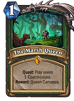 The Marsh Queen HS Hunter Quest Card
