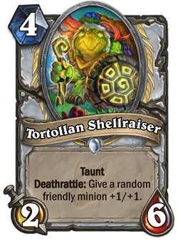 Tortollan Shellraiser HS Priest Card