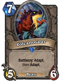 Volcanosaur HS Card