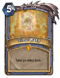 Time Warp HS Mage Card