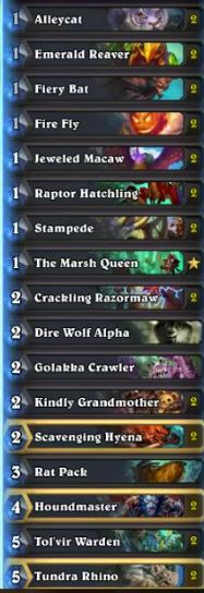 Un'Goro Quest Hunter Deck by Thijs