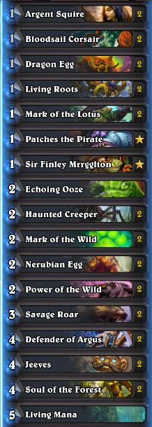 Wild Tier List May 2017 Egg Druid