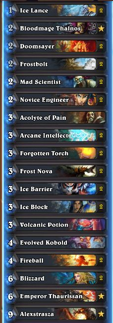 Wild Tier List May 2017 Freeze Mage