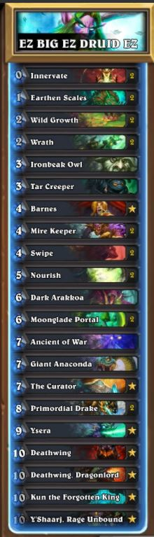 Ostkaka EZ BIG Druid Deck June 17