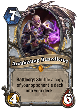 Archbishop Benedictus HS Priest Legendary Card