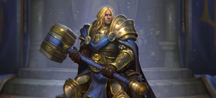 How to Get Prince Arthas Paladin Hero Portrait