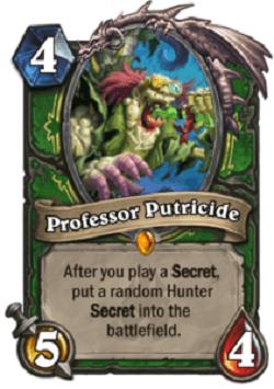 Professor Putricide HS Hunter Legendary Card