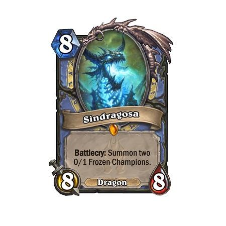 Sindragosa HS Mage Legendary Card
