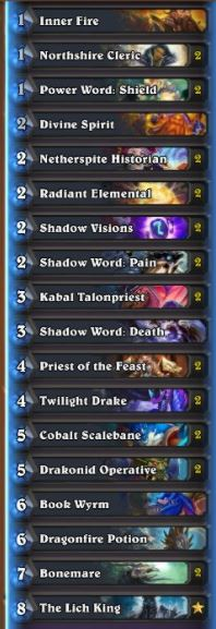 Amnesiac Frozen Throne Dragon Priest w Lich King, Bonemare