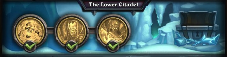 Beating the lower citadel wing missions hearthstone