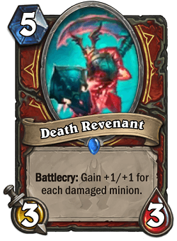 Death Revenant HS Warrior Card
