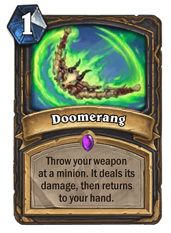 Doomerang HS Rogue Card
