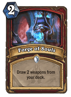 Forge of Souls HS Warrior Card