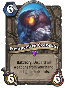 Furnacefire Colossus HS Card