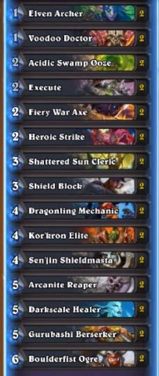 How to Beat Deathbringer Saurfang Warrior Deck List