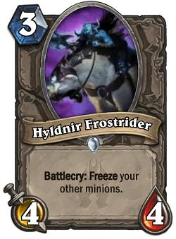 Hyldnir Frostrider HS Card