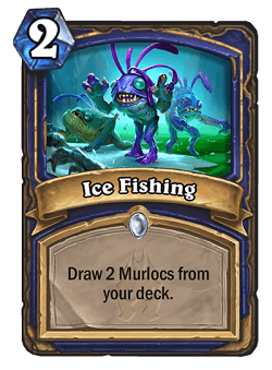 Ice Fishing HS Shaman Card HS Decks And Guides