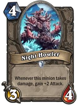 Night Howler HS Card