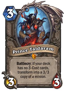 Prince Taldaram HS Legendary Card