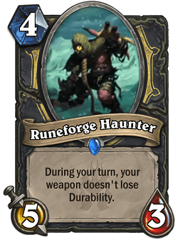 Runeforge Haunter Hs Rogue Card Hs Decks And Guides