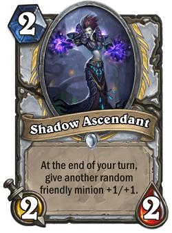 Shadow Ascendant HS Priest Card HS Decks And Guides