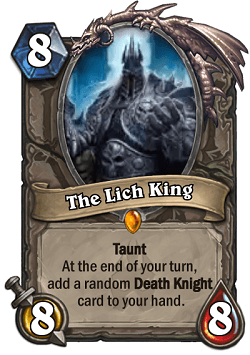 The Lich King HS Legendary Card