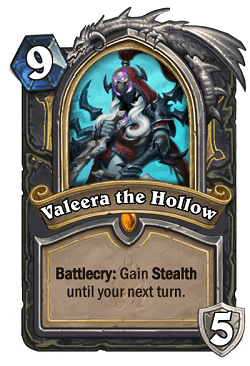 Valeera the Hollow HS Rogue Death Knight Portrait