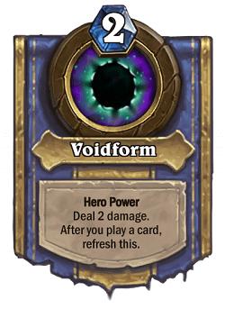 Voidform HS Priest Hero Power