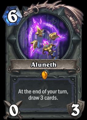 Aluneth HS Mage Card