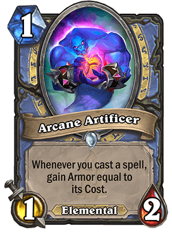 Arcane Artificer HS Mage Card