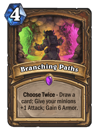 Branching Paths HS Druid Card