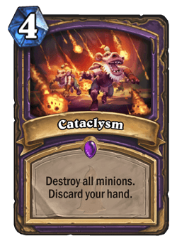 Cataclysm HS Warlock Card