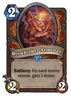 Drywhisker Armorer HS Warrior Card