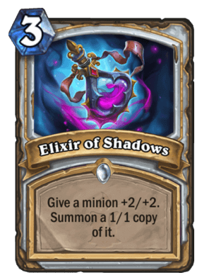 All Unidentified Elixir Priest Options Hs Decks And Guides